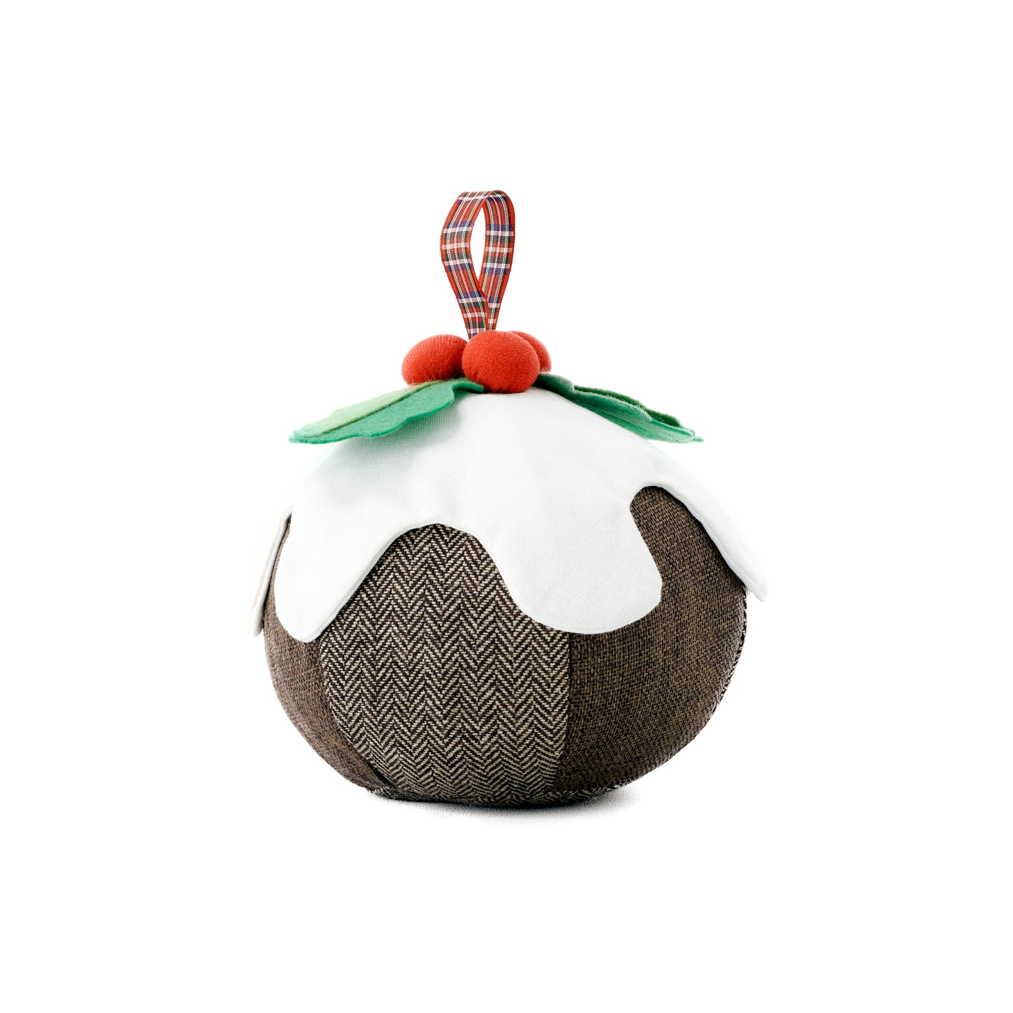 Christmas Pudding Novelty Doorstop