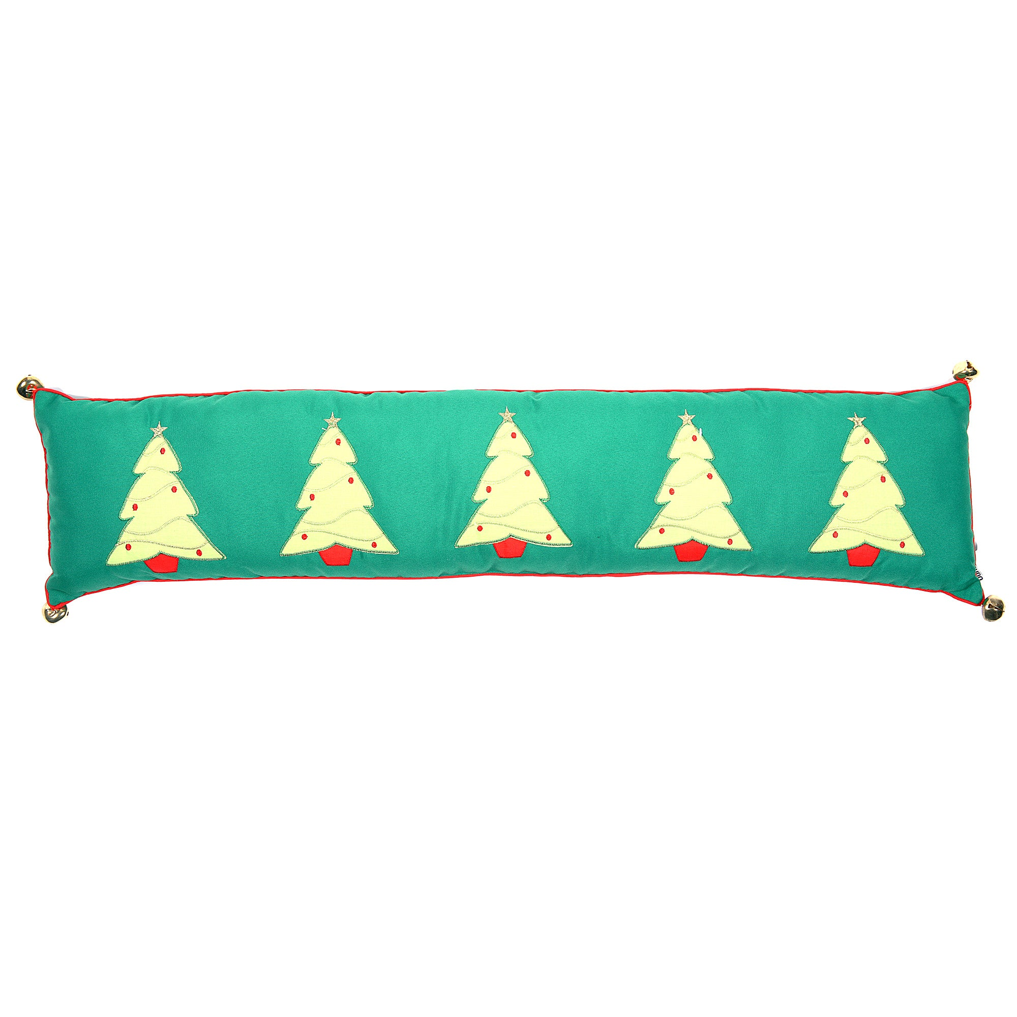 Green Christmas Tree Draught Excluder