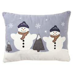Snowman Cushion