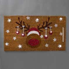 Rudolph LED Doormat