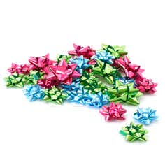 Merry and Bright Pack of 40 Assorted Bows