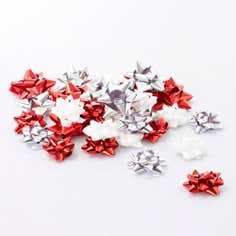 Crisp and Even Pack of 40 Assorted Bows