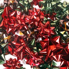 Pack of 40 Festive Ramble Assorted Bows