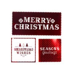 Pack of 12 Crisp & Even Christmas Cards