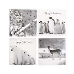 Pack of 20 Animal Christmas Cards