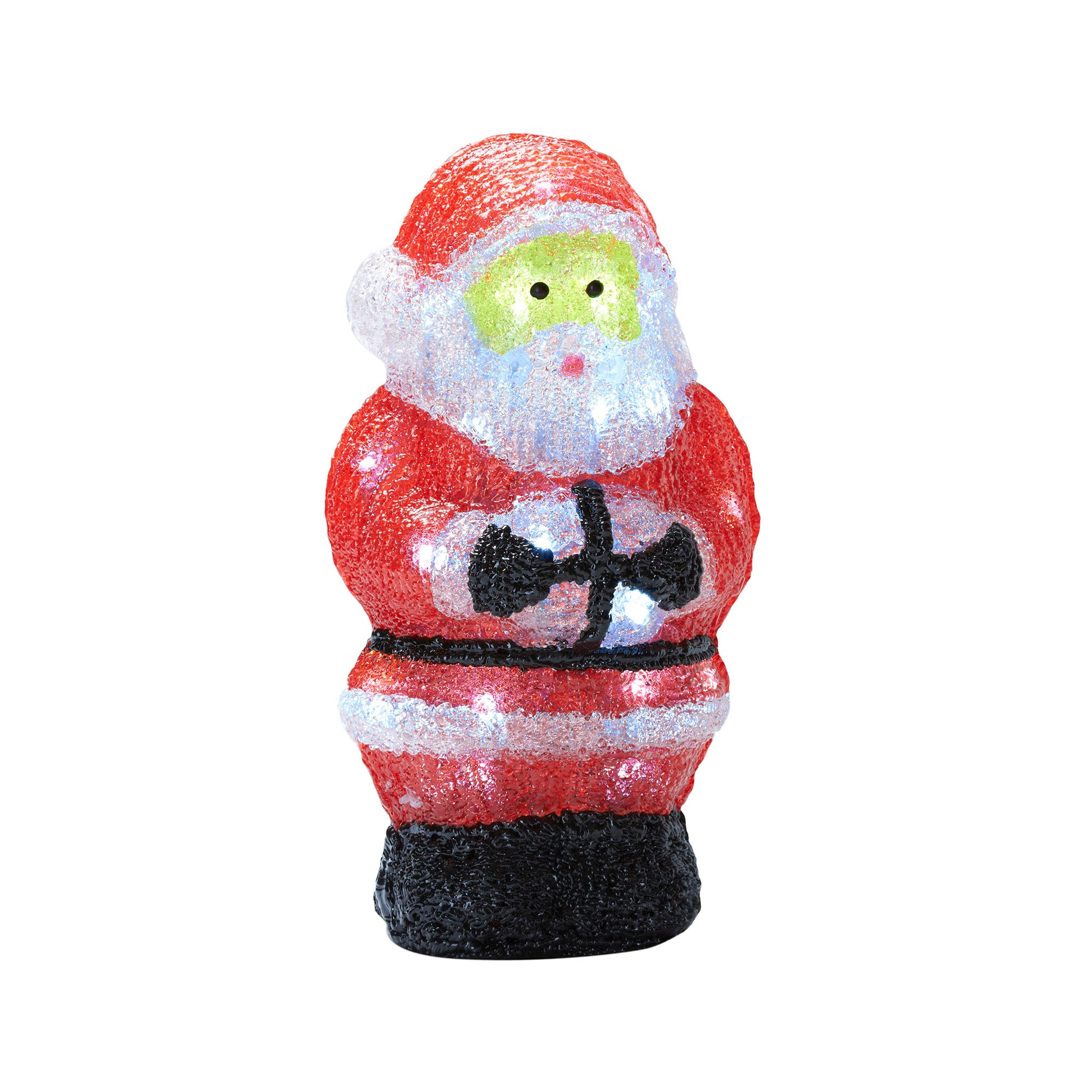 Red LED Santa Light
