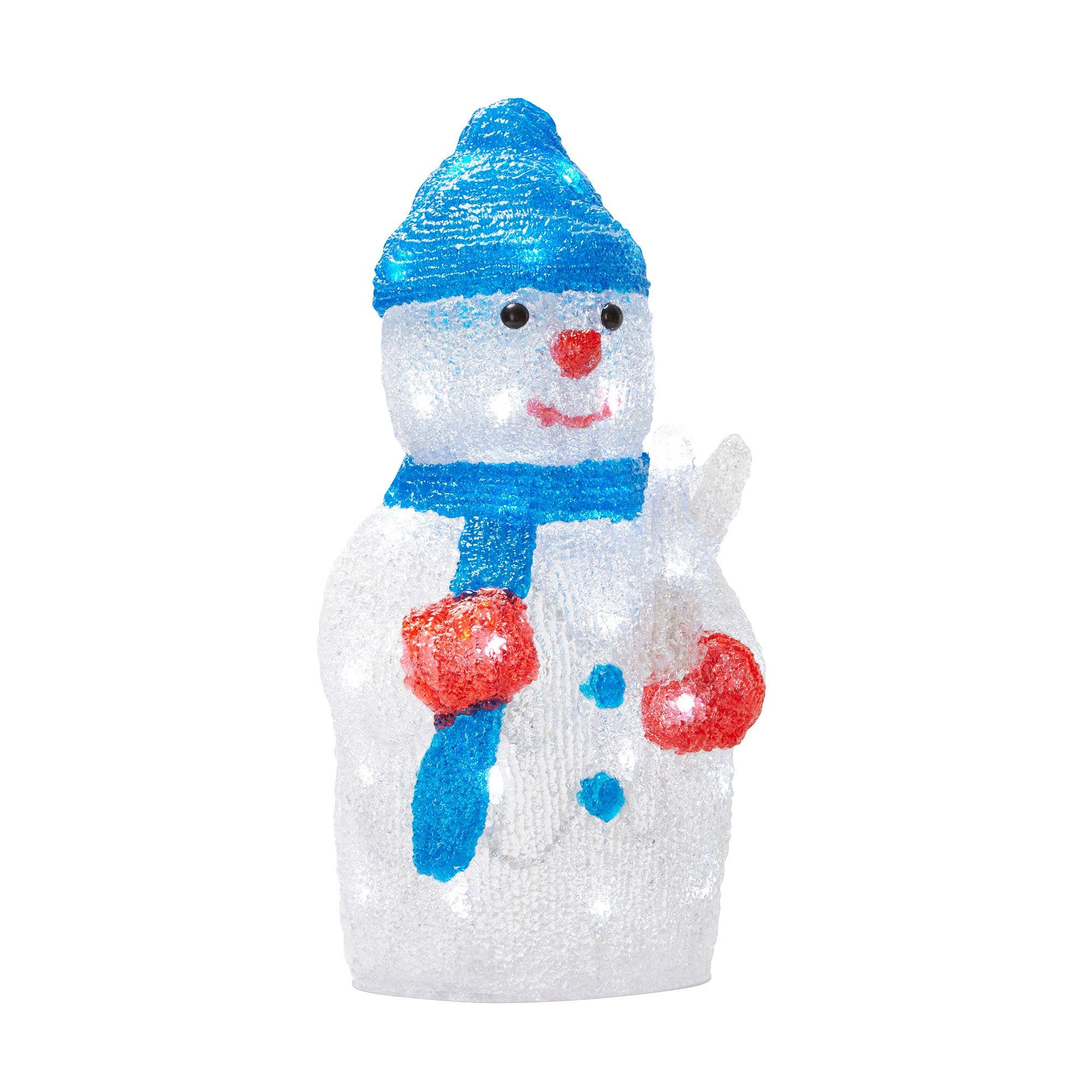 Xms14 Acrylic Snowman with 32LEDs