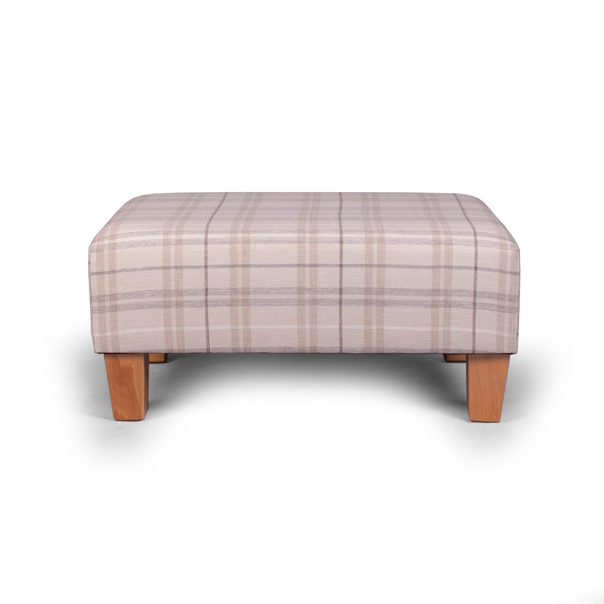 Adele Check Footstool