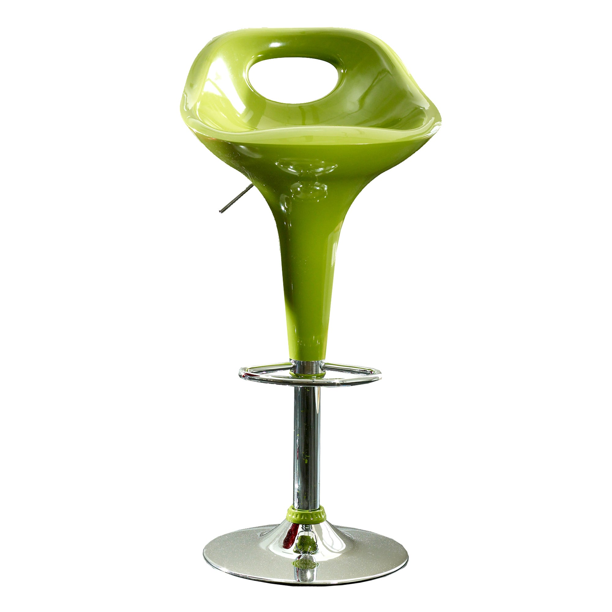 Green Comet Gas Lift Bar Stool