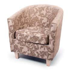 Mayfair Floral Tub Chair