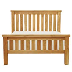 Harrogate Oak Slatted Double Bedstead