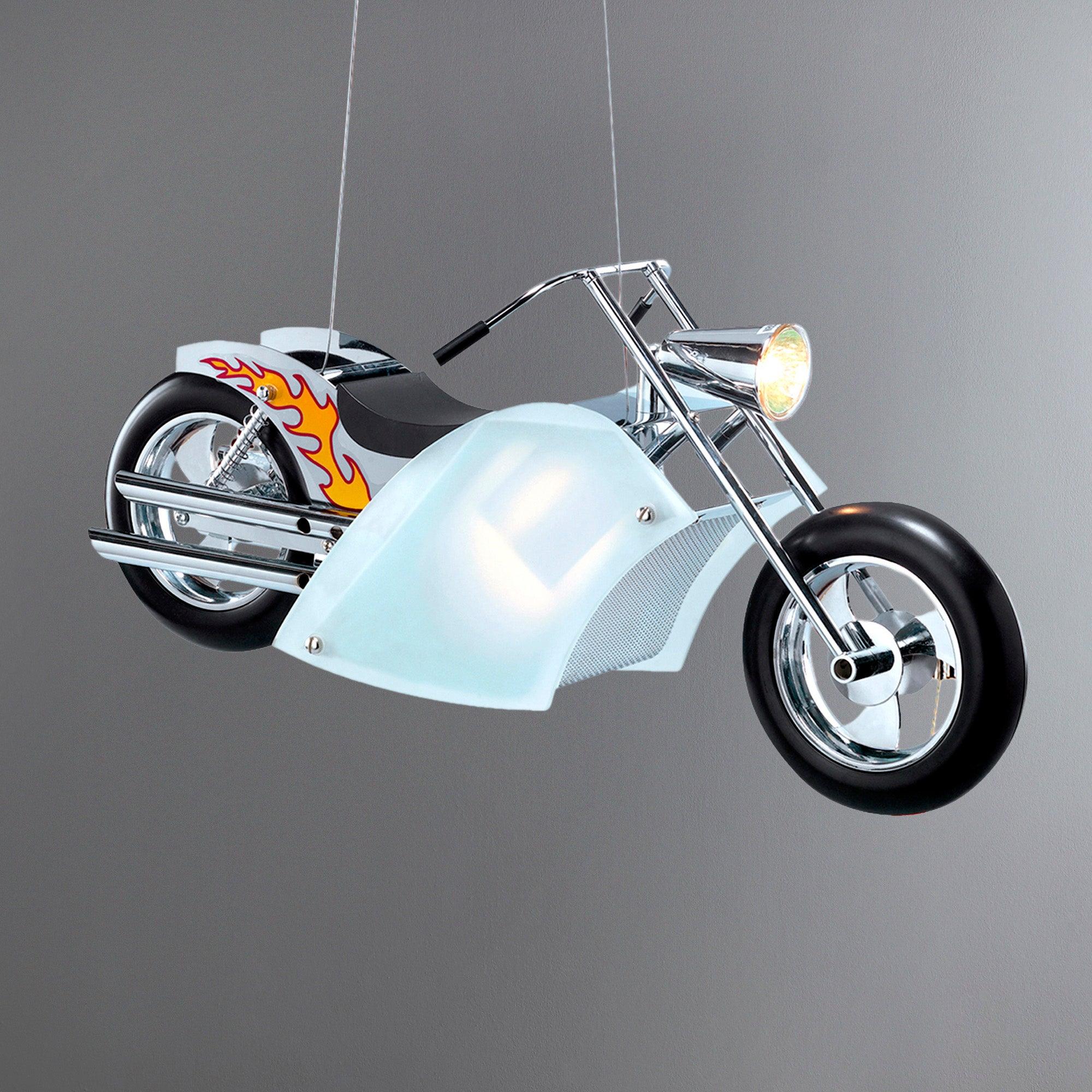 Motorbike Light Ceiling Fitting
