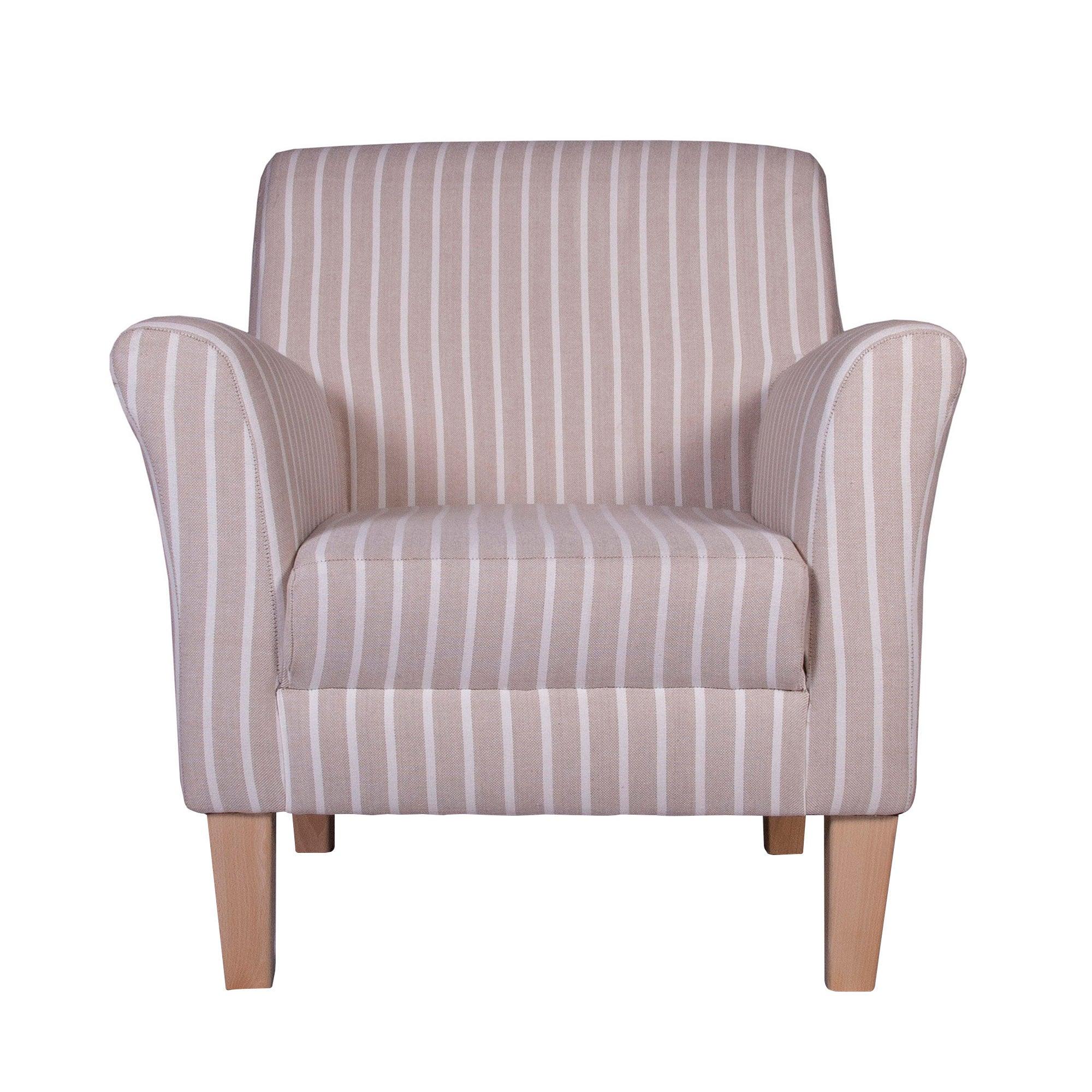 Hampton Stripe Eden Chair