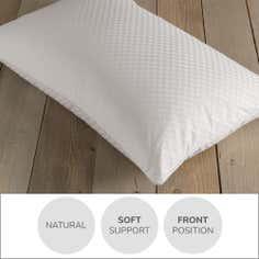 Dorma Silver Pyranean Goose Down Pillow