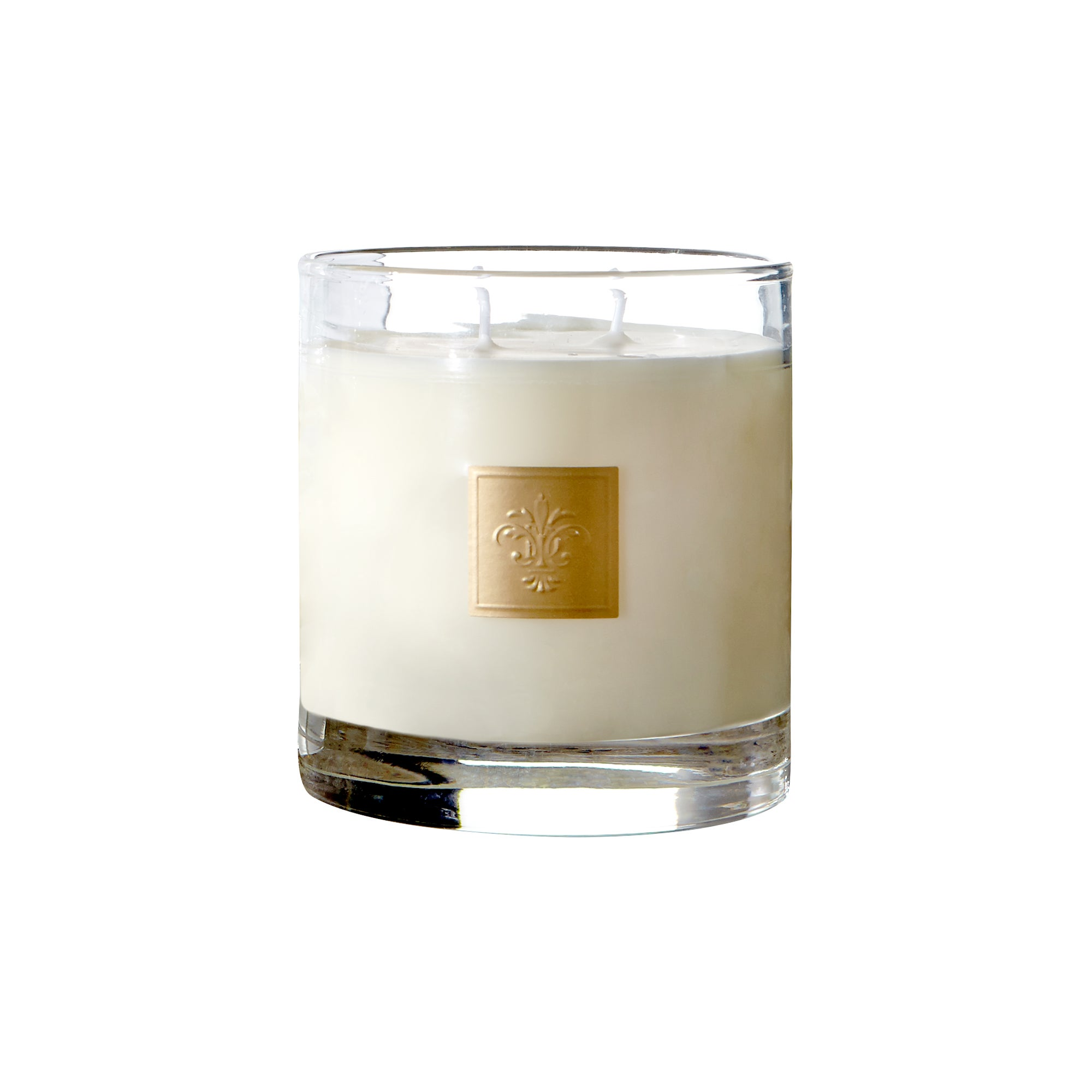 Dorma Large White Multi Wick Blossom and Musk Candle