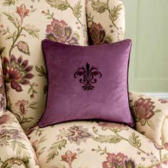 Dorma Plum Newlyn Cushion