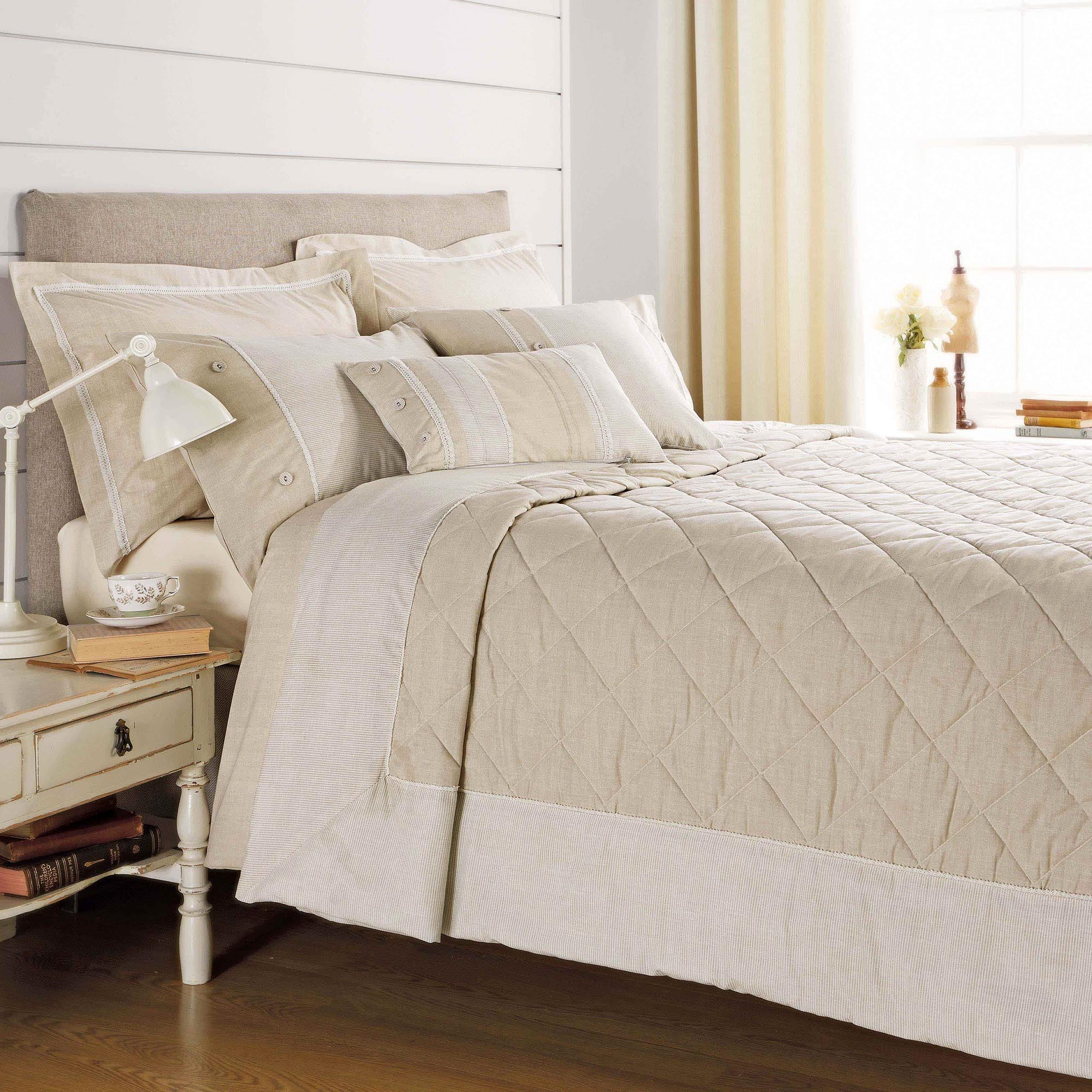 Natural Millie Collection Bedspread