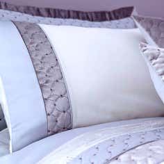 Silver Vienna Collection Housewife Pillowcase