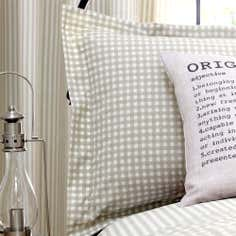 Natural Heritage Label Collection Oxford Pillowcase