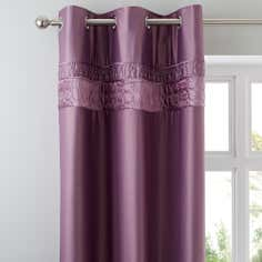 Heather Vienna Collection Thermal Eyelet Curtains