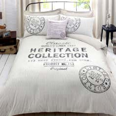 Natural Heritage Label Collection Duvet Cover Set