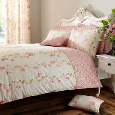 Pink Mimosa Collection Duvet Cover Set