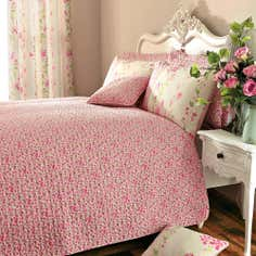Pink Mimosa Collection Bedspread