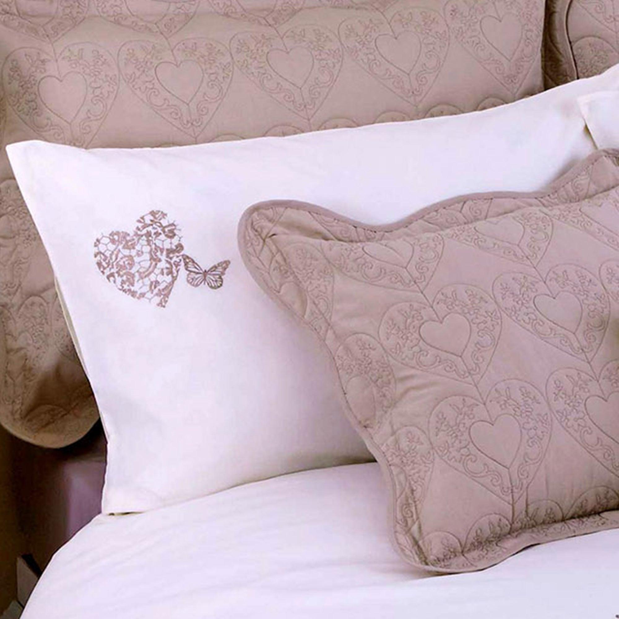 Cream Parisian Collection Housewife Pillowcase