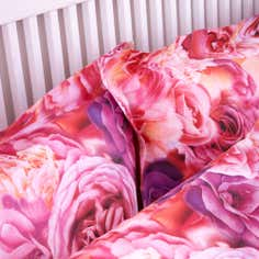 Pink Rose Petal Collection Oxford Pillowcase