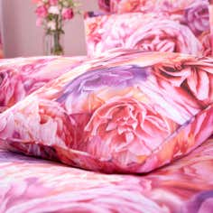 Pink Rose Petal Collection Square Cushion