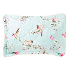 Duck Egg Beautiful Birds Collection Pillow Sham