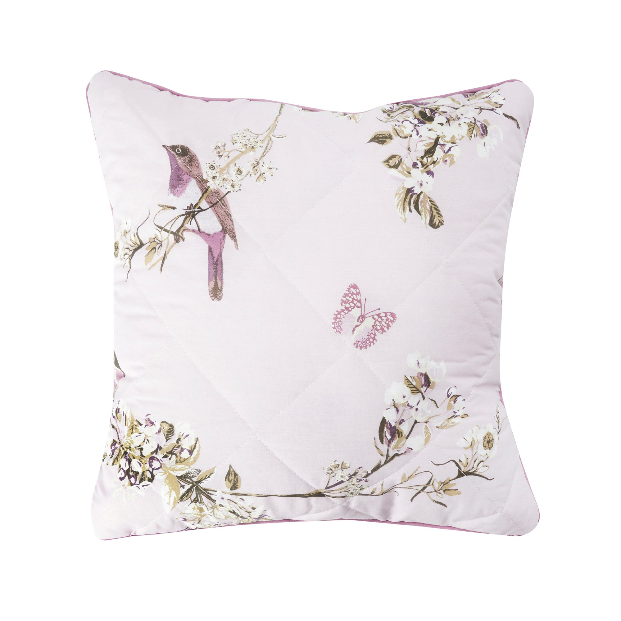 Heather Beautiful Birds Collection Square Cushion