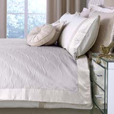 Champagne Velvet Crush Collection Bedspread