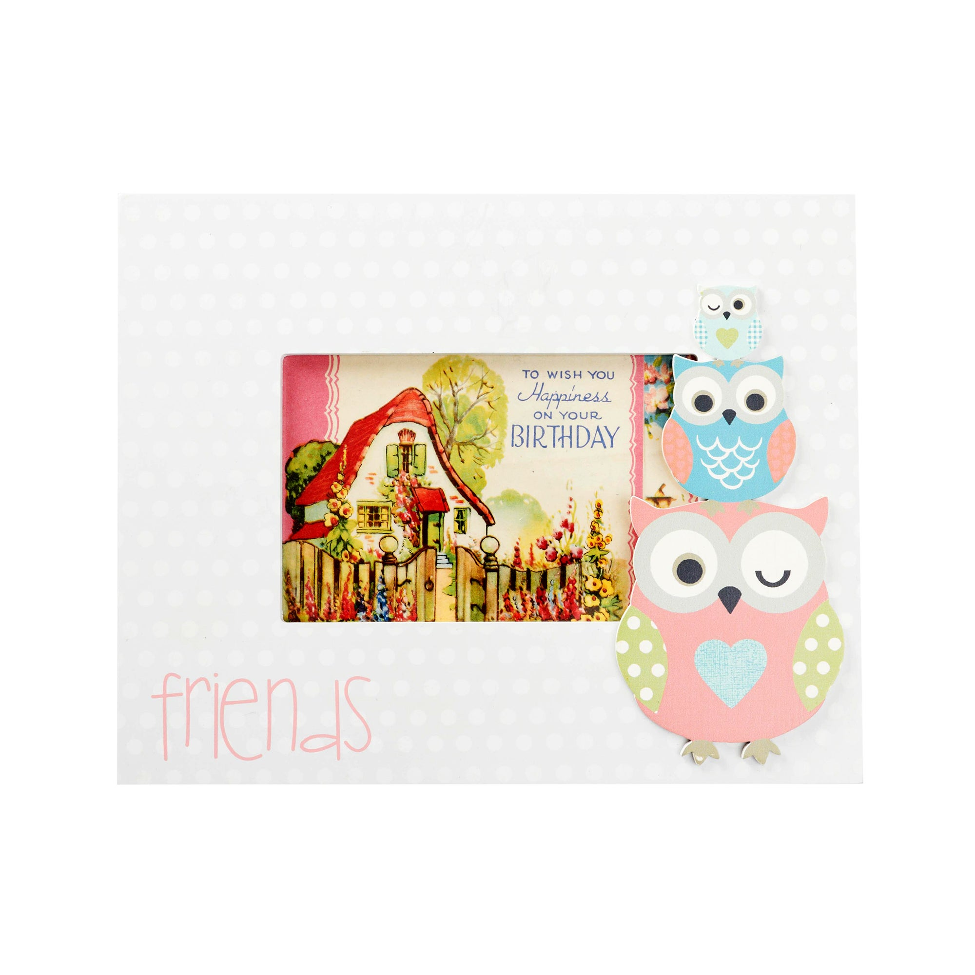 Kids Pretty Owls Collection Photo Frame