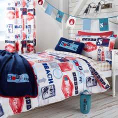 Kids Surfer Collection Duvet Set