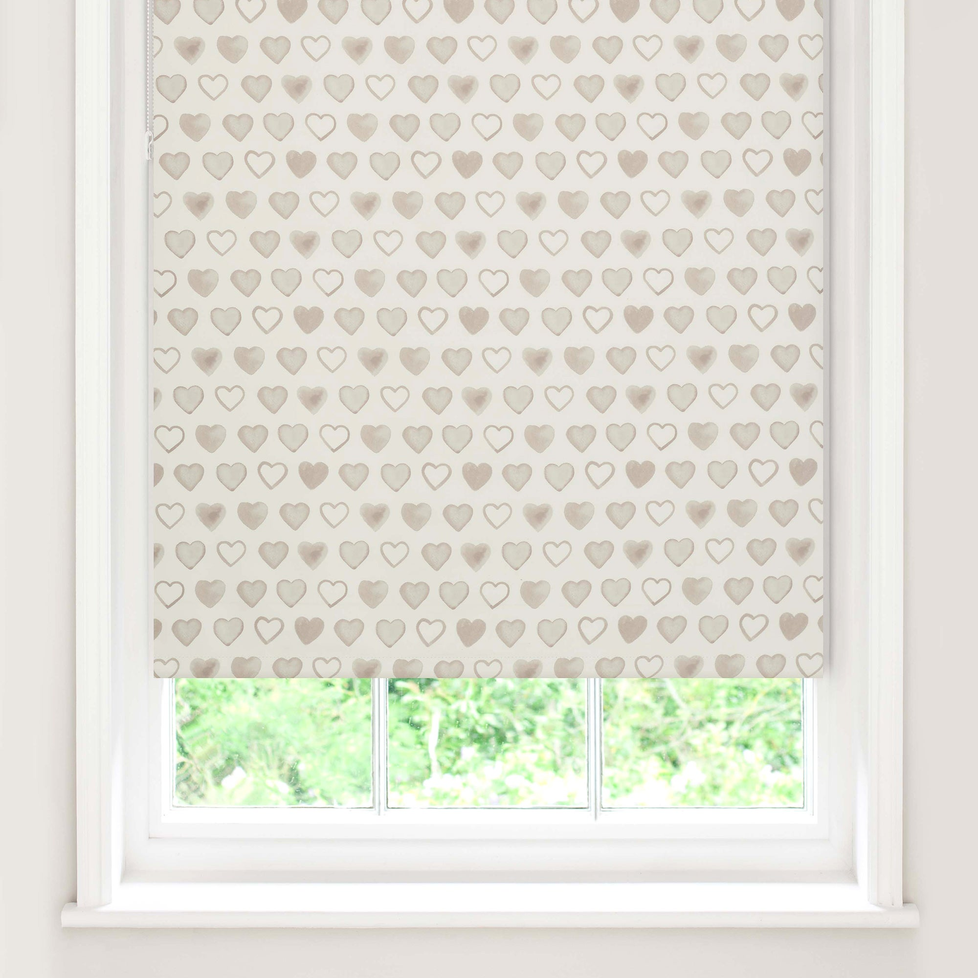 country hearts blackout roller blind dunelm. Black Bedroom Furniture Sets. Home Design Ideas
