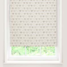 Country Hearts Blackout Cordless Roller Blind