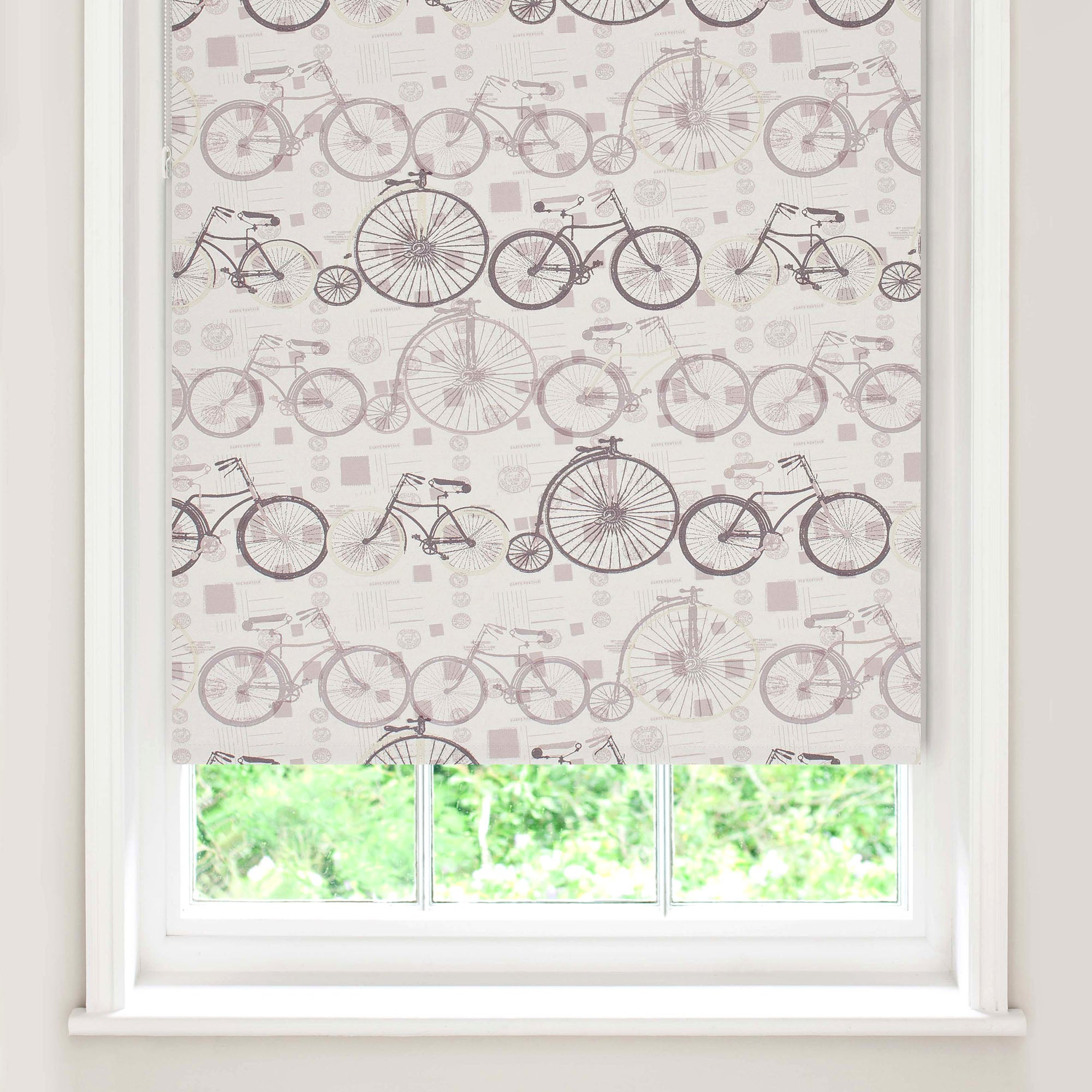Bicycle Blackout Roller Blind