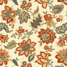 Jacobean Floral Fabric