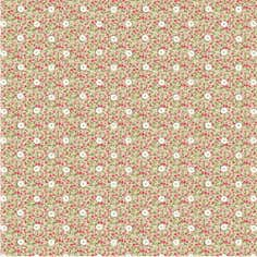 Floral Button Chintz Fabric