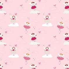 Pink Angel PVC Fabric