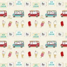 Ice Cream PVC Fabric