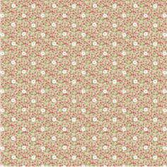 Floral Button Chintz PVC Fabric