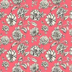 Pink Darlene Fabric