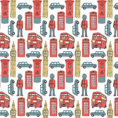 London Iconic PVC Fabric