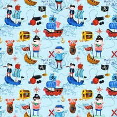Ocean Pirates Fabric