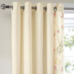 Natural Botanical Gardens Thermal Eyelet Curtains
