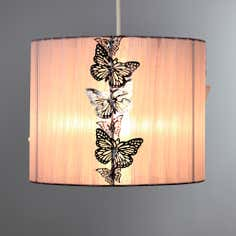 Butterfly Voile Pendant
