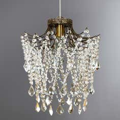 Grace Crystal Glass Light Fitting