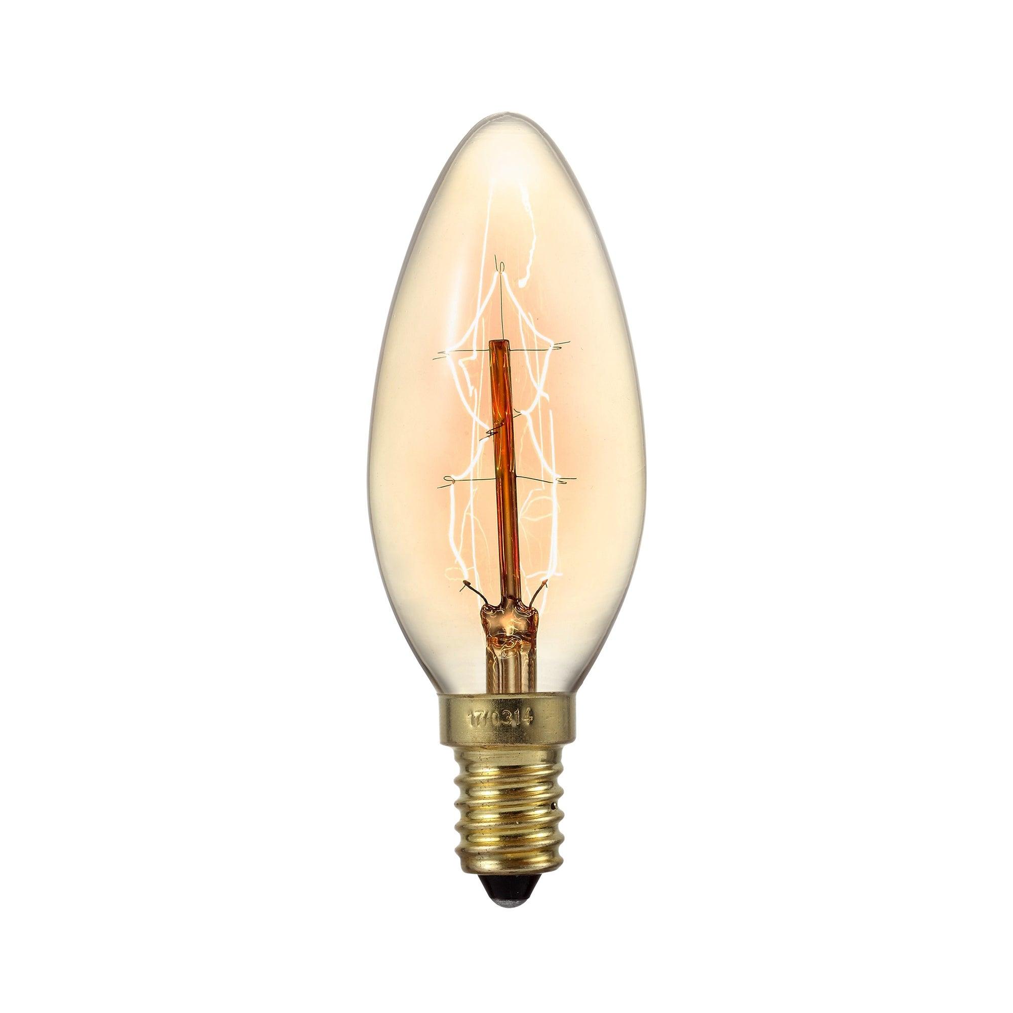 Retro 40W Small Edison Screw Decorative Candle Bulb